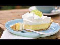 Key Lime Pie Recipe - YouTube