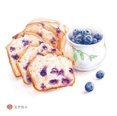 cake Drawing aquarell - New Cake Illustration Pencil Ideas Cake Drawing, Food Drawing, Food Design, Food Art Painting, Pencil Painting, Dessert Illustration, Food Sketch, Watercolor Cake, Food Cartoon