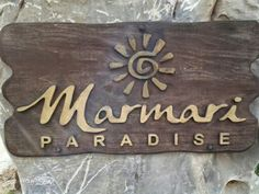Marmari paradise on the beautiful beach of Achilio, Mani- Greece Beautiful Beaches, Places To Travel, Greece, Paradise, Holidays, Summer, Decor, Greece Country, Holidays Events