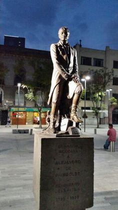 Alejandro Von Humboldt en la Alameda Central