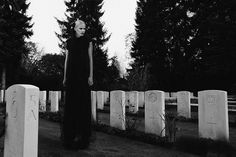 Devilish Cemetery Photoshoots : Garden of Angels
