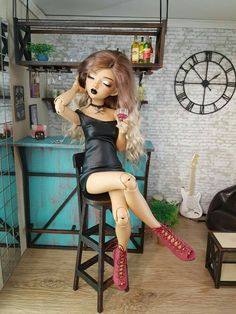 Mgjkohbvvkuhbvh Anime Dolls, Ooak Dolls, Bar Pics, Beautiful Barbie Dolls, Dream Doll, Smart Doll, Living Dolls, Doll Repaint, Monster High Dolls