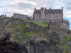 Sitting high atop volcanic rock rock known as castlerock, Edinburgh Castle
