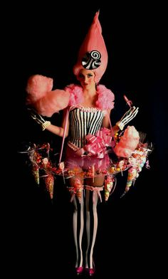 Circus Theme Christmas Party This Christmas cheer, laugh and be amazed as the vintage circus rolls into Kent House Knightsbridge. Costume Bonbon, Frog Costume, Candy Costumes, Girl Costumes, Halloween Costumes, Carnival Costumes, Halloween Makeup, Circus Theme, Circus Party