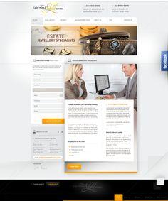 Cash World Gold Buyers - website by webdesigner1921.deviantart.com on @deviantART