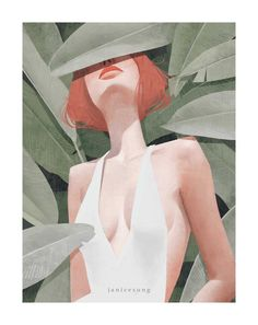 2 Illustration Mag is online art magazin about illustration, drawing and painting art. Portrait Illustration, Digital Illustration, Flat Illustration, Painting Inspiration, Art Inspo, Watercolor Paper Texture, Watercolour, Art Drawings, Instagram