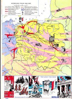 Polen: de situatie aan het eind van de oorlog 1944-1945 met de Russische opmars