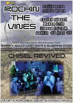 Rockin' the Vines coming to Ballandean this Easter Sunday.
