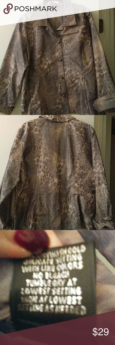 Cute spring jacket Animal print like a parashoot material cute lightweight mateial Jackets & Coats