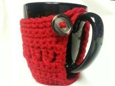 Twisted Stitches Coffee Cozy « The Yarn Box