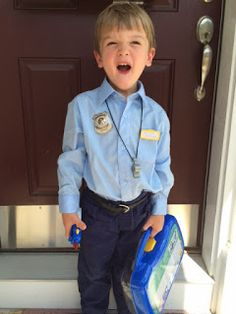 Easy diy kids cop costume pinterest sewing diy costumes and 8 diy costumes you can use this halloween to honor real life heroes that do the things the rest of us arent always brave or capable enough to solutioingenieria Image collections