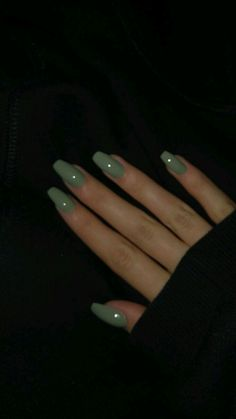The Most Beautiful Acrylic Nails for Manicure for Summer 2019 - Page 3 of 20 - Fashion - Aycrlic nails Aycrlic Nails, Cute Nails, Pretty Nails, Hair And Nails, Coffin Nails, Glitter Nails, Nails Inc, Stiletto Nails, Silver Glitter