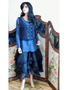 liquette coton blue EWA I WALLA