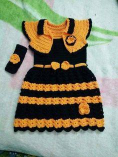 vestido de crochê | Kika Sousa croche | Elo7