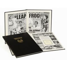 Leeds Utd Football Newspaper Book Leeds Football Newspaper Book. Relive those glorious moments of your favourite team captured in newsprint. From the early 20th century to the recent past, each book affords a unique perspective on you http://www.MightGet.com/may-2017-1/leeds-utd-football-newspaper-book.asp
