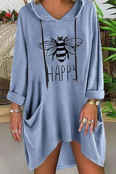 Casual Dresses, Casual Outfits, Fashion Dresses, Cute Outfits, Club Dresses, Vintage Sweatshirt, Types Of Sleeves, Ideias Fashion, Summer Outfits