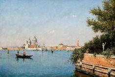 Martín Rico - Vista de Venecia #2