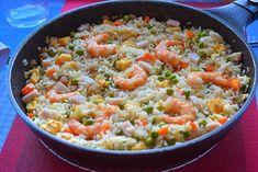 Arroz tres delicias Hoy preparamos un delicioso arroz tres delicias, pero eso si, casero, que está bien rico y es muy fácil y sano. La [...]