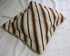 White Parang Batik Cushion Cover for just IDR 50000 each.