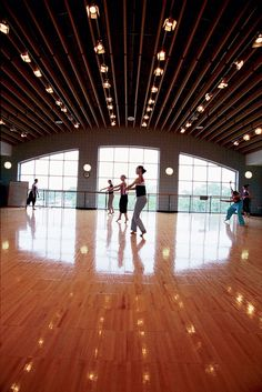 dance classroom, WOW, what a studio!