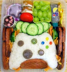 Xbox-themed bento box