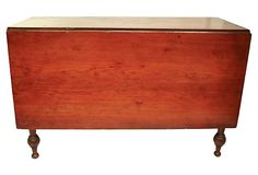 Antique Drop-Leaf Table on OneKingsLane.com. Looks just like my mom and dad's