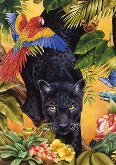 Jungle Panther ~ Anzalone Avarella Studios