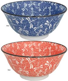 Japanese Dragonfly Bowl from the GreaterGood.org Hunger Site