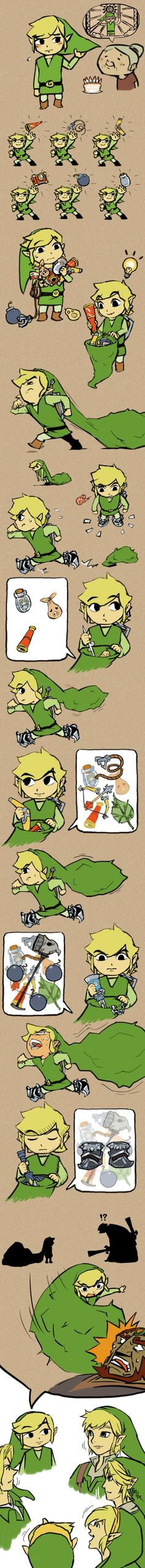 hahah that explains everything. #link #TheLegendOfZelda #Nintendo