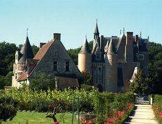 Loir et Cher : Le Château du Moulin et le Conservatoire de la Fraise à  LASSAY-SUR-CROISNE