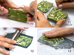 Master di classe Mokume gane, orecchini. - Polymer Clay per principianti. Corsi di perfezionamento sulla scultura. - Workshop - Kalinkapolinka