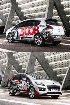 Peugeot 3008 car branding