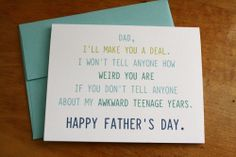 Father's Day - Make You A Deal, $4.00 by Colette Paperie