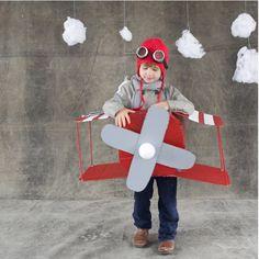 Easy Airplane Costume!