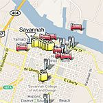 Southern Living Savannah Travel Guide
