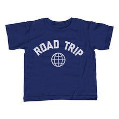 Boy's Road Trip T-Shirt Retro Athletic Travel