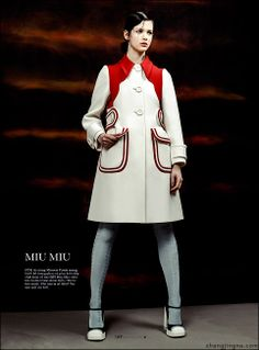 acd7c7765599 Isabelle Nicolay by Zhang Jingna in Miu Miu. Elle Vietnam May 2014   photography