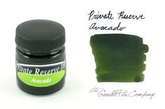 Private Reserve Avacado - 50ml Bottled Fountain Pen Ink Must try.