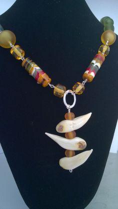 Bear hunter necklace