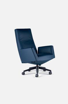 Swivel Office Chair Chancellor By Poltrona Frau