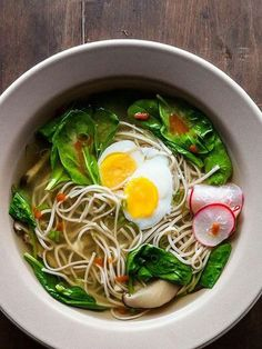 Full of soba noodles, seaweed, dried shiitake, leeks, and egg, this simple soup is a must-try. Grab the recipe from Food52.