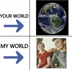 Oh yes<3.  I know I've pinned this before, but it is true. Leondre and Charlie are my world
