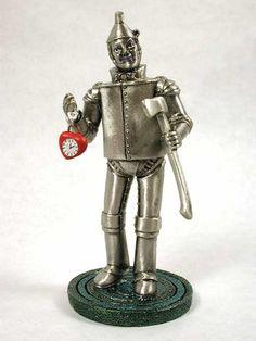 Tin Man Statue