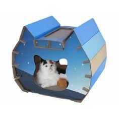 House Style Cat Scratcher Board