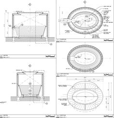 turrell skyspace detail drawings - Google Search