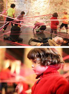 dondecabentres.com  CONCORDANÇA// INSTALACIÓN EFIMERA CON MOTIVO DEL DIA INTERNACIONAL DE LA DANZA  Cuándo: 2013 Dónde: Convento de Sant Agustí, Barcelona Organización: Festival Tudanzas