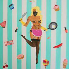 Thug Wife - Canvas Print – SUE TSAI