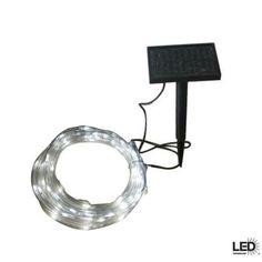 Hampton Bay 16 ft. Solar LED Rope Light-82056-055SR - The Home Depot