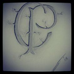 Desenho a lápis para tattoo com emblema do Corinthians