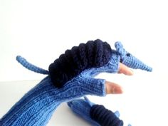 Original Design Cute Armadillos  gloveslong by muratyusuf on Etsy, $45.00